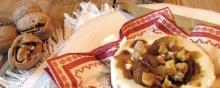 Tomino di capra con fichi noci e Aceto Balsamico