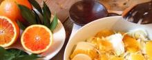 Finocchi sottili con arance all'Aceto Balsamico Tradizionale di Modena DOP CASTAGNO - Lorena Briciole di Sapori https://bricioledisapori.blogspot.it