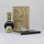 Confezione in LEGNO PIROGRAFATA a mano Aceto Balsamico Tradizionale di )Modena DOP Extravecchio Extravecchio CLASSICO