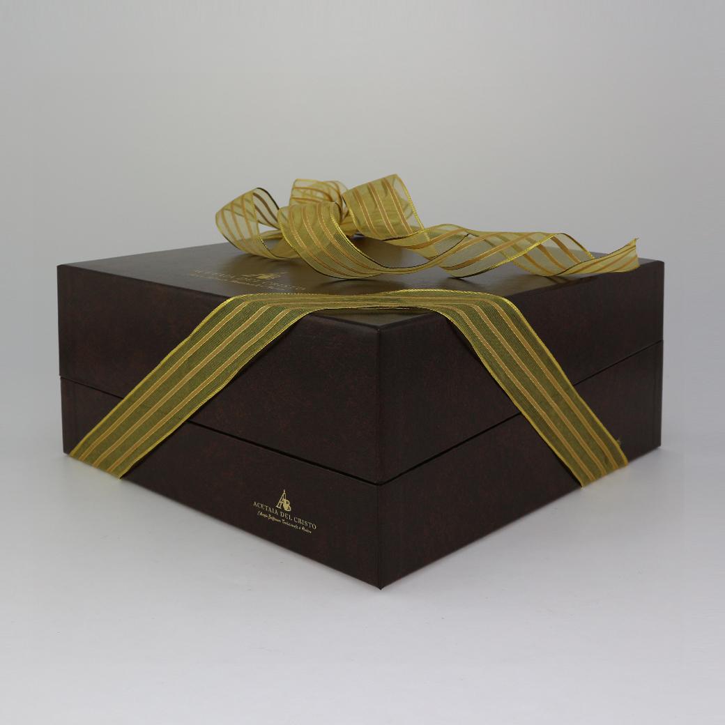 Confezione REGALO con Tappo Dosatore e Cucchiaino in Porcellana di Aceto Balsamico Tradizionale di Modena DOP