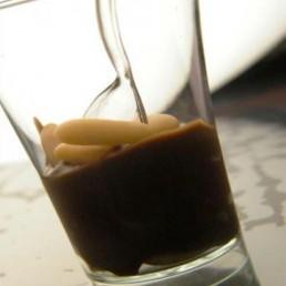 ganache al cioccolato e aceto balsamico