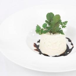 mousse di cavedano e aceto balsamico tradizionale