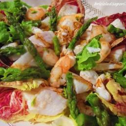 insalata spigola e aceto balsamico tradizionale