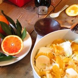 finocchi arance e aceto balsamico tradizionale
